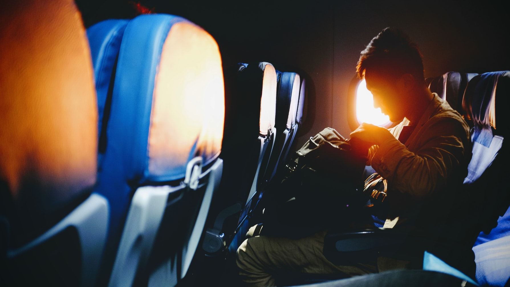 shrinking airline seat