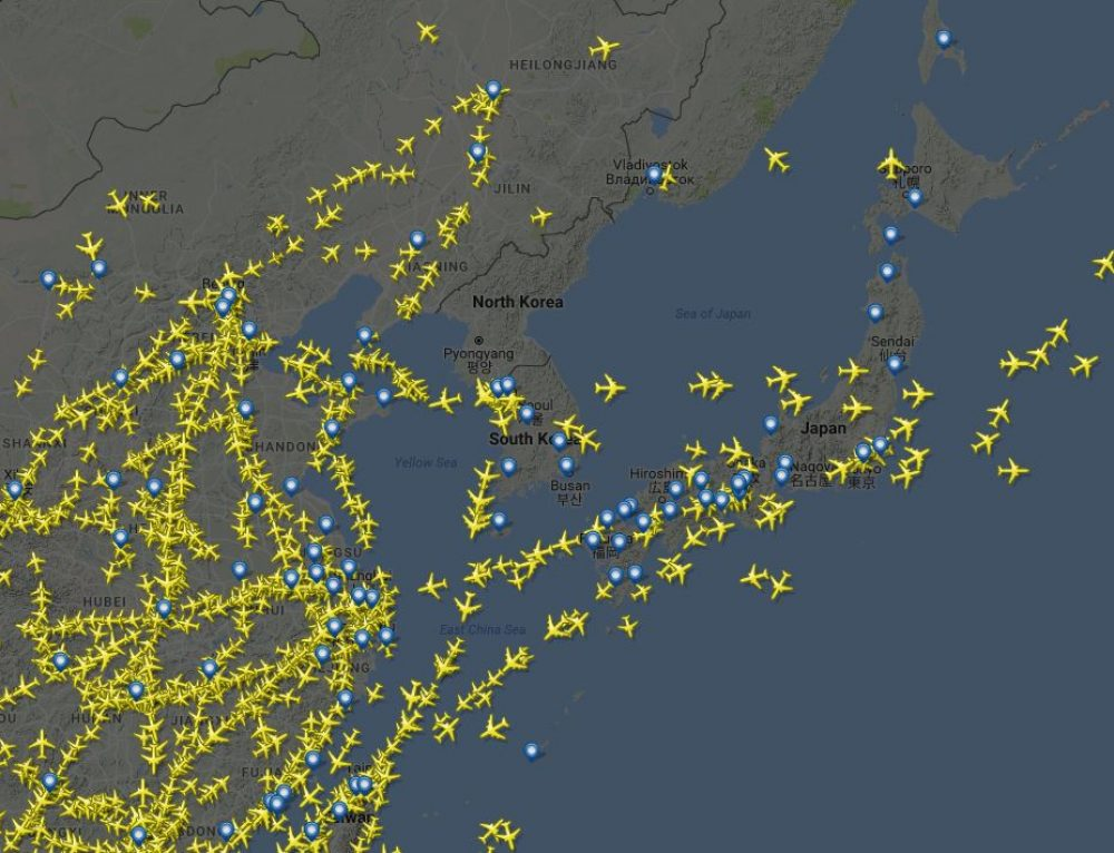 A Look At No-Fly Zones Over North Korea