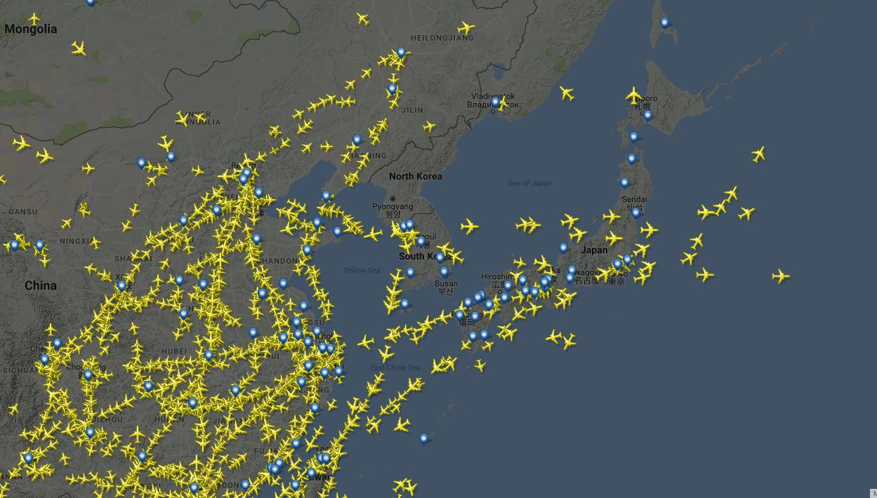 Taking A Look At No Fly Zones Over North Korea Who Flies There