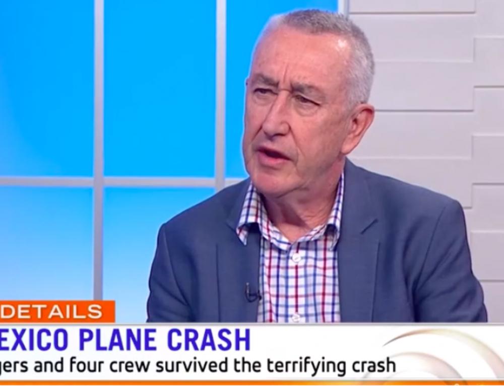 Sunrise: Ron Bartsch Discusses the Aeromexico Crash