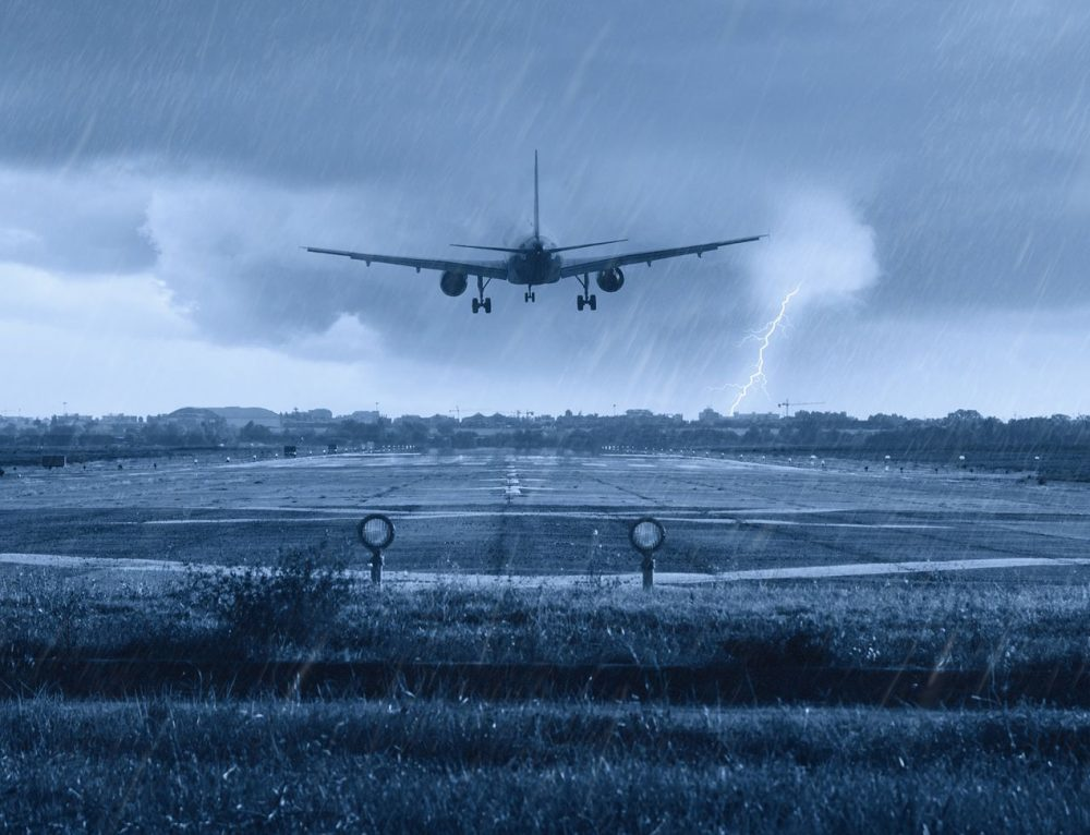 Flying through Bad Weather