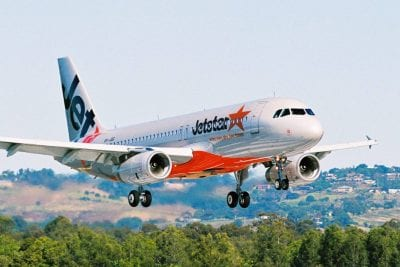 Jetstar A320 altitude Christchurch