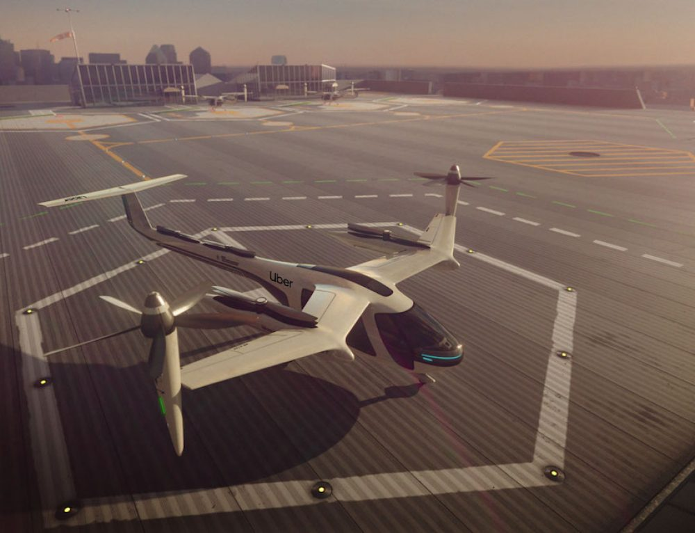 Rise of the Uber Air Taxi