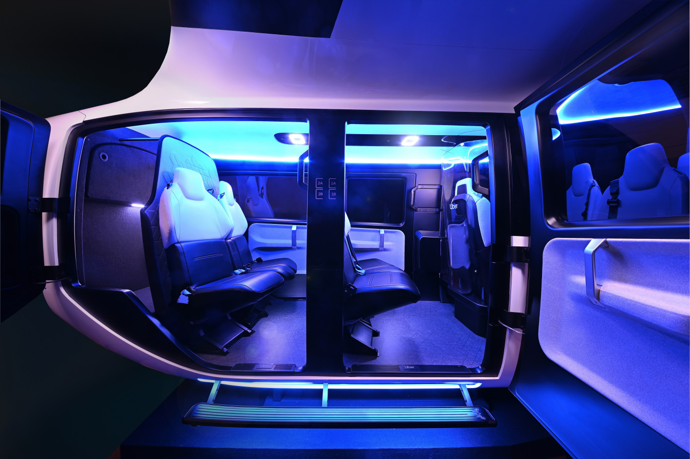 Uber Air Taxi Cabin